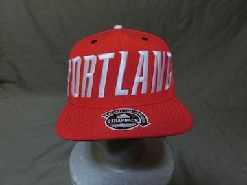 レア NBA公認【adidas】社製 SNAPBACK Trail Blazersロゴ刺繍CAP