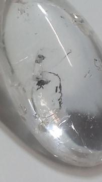 水の動きが分かります★水入り水晶★スターリングシルバー925