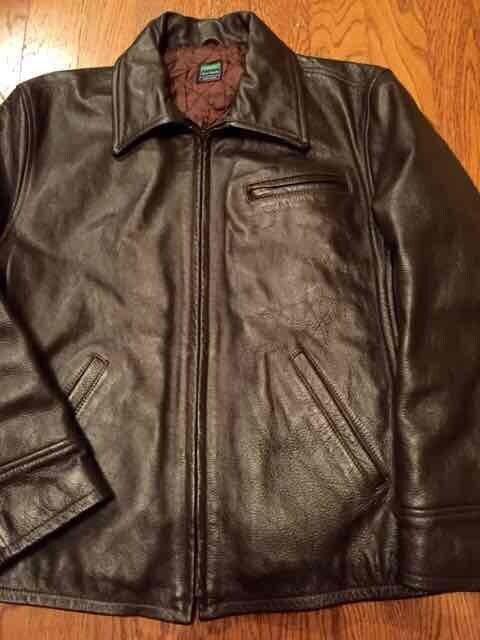 BENETTON BLUE FAMILY レザー ジャケット ポーランド製 レア物 < ブランドの