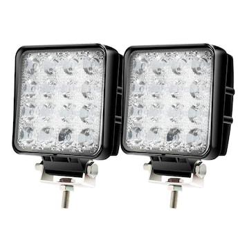 LEDワークライト,作業灯 48W 16連LED 6000k 3360LM