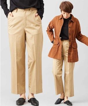 新品☆CIAOPANIC(チャオパニック)綿サテンストレッチパンツ☆