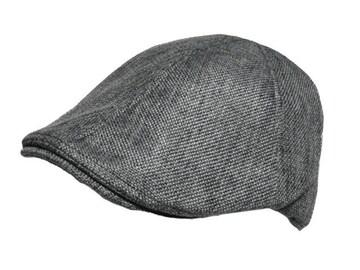 送料無料  M856 ハンチング 6パネル Cap 帽子 グレー 3
