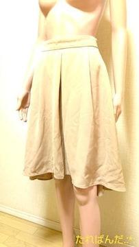 大きいL☆ハニーズ☆心地よい定番フレアスカートB292☆3点で即落