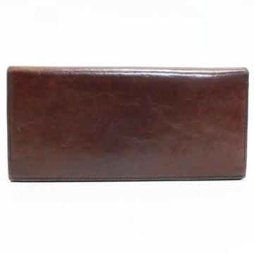 Paul Smithポールスミス 二つ折り長財布 レザー 茶 良品 正規品