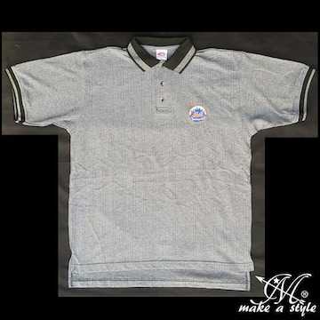 NY ニューヨーク METS メッツ MLB ポロシャツ POLO 522 L