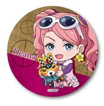 DOUBLE DECKER!ダグ&キリル ぎゅぎゅっと缶バッジ ディーナ