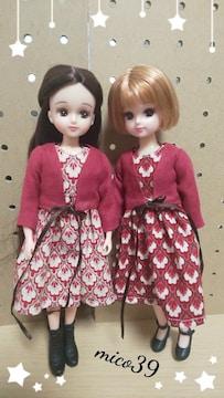 リカちゃん服☆ワンピ(ピンク)セット(5)