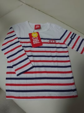 ★BABY DOLL★ボーダーロングTシャツ★未使用品90