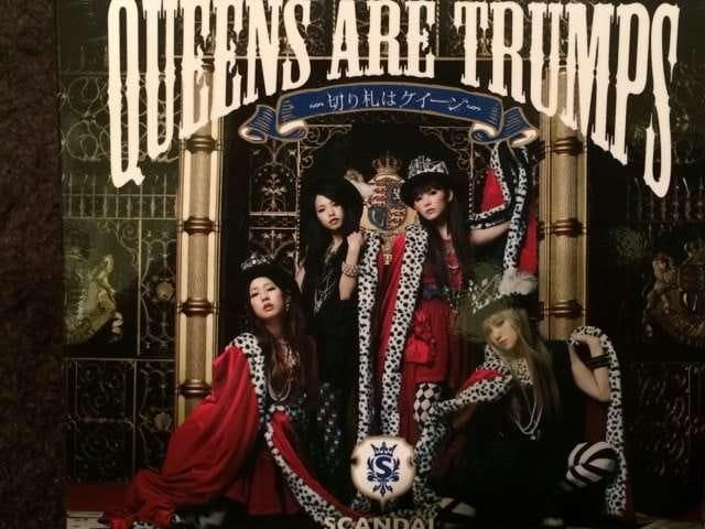 激安!超レア!☆SCANDAL/Queens are trumps☆初回盤/CD+DVD☆美品  < タレントグッズの