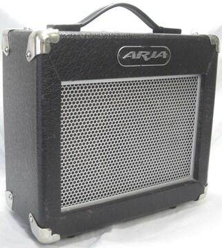 Aria/ギターアンプ::AG-10X小型練習用中古完動品0214
