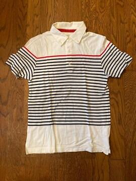 adam et rope ボーダー ポロシャツ 日本製 古着