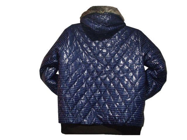最終セール送込Jack&Jonesジャックジョーンズ★ブルーチェックジャケットXL < 男性ファッションの
