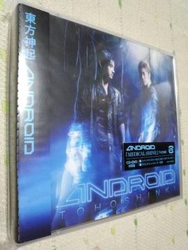 *東方神起ANDROIDCD+DVD