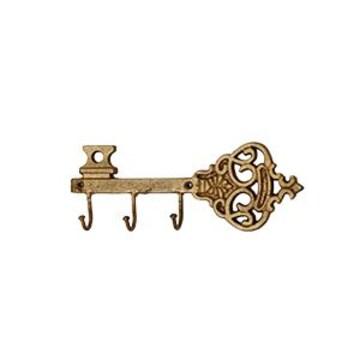 アンティークゴールド 3連フック 鍵 玄関/キッチンインテリア