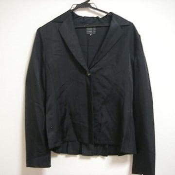 コムサ ツルサラ 長袖シャツ BK 11