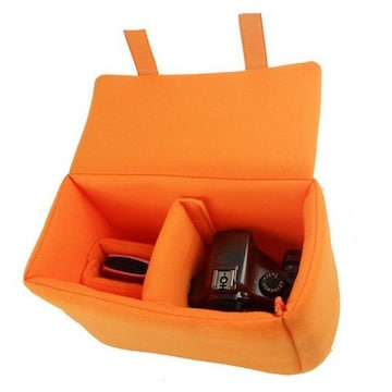 インナーカメラバッグ オレンジ