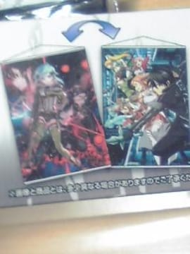 A賞 ソードアート オンライン両面掛け式アートポスター