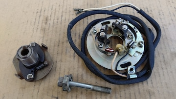 GS400 国産電機ガバナ ポイント ボルト実働良品GT380CBX400Z400FXエンジン
