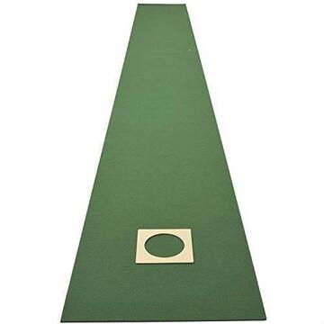 山善(YAMAZEN) パッティングマット ゴルフ ゴルフ練習用パターマ