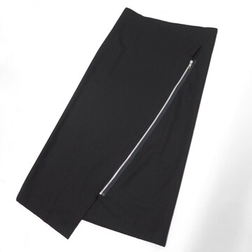 80s ヨウジヤマモト ウール ジップ アシンメトリー ロング スカート ビンテージ