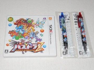 3DS★パズドラZ パズドラタッチペン2本付 電子説明書