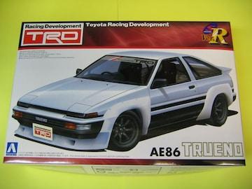 アオシマ 1/24 Sパッケージ・バージョンR No.40 TRD AE86トレノ N2仕様