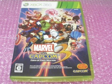 堀XBOX360 マーヴル VS カプコン 3