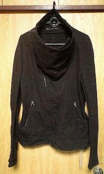 JULIUSユリウス 変形ハイネックジャケット