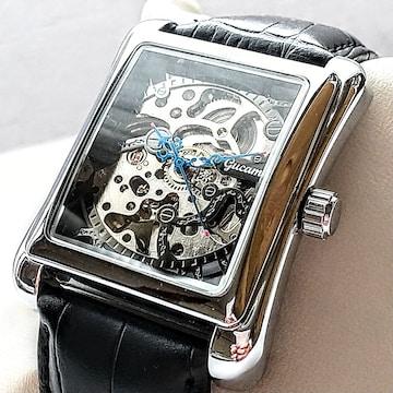 腕時計 紳士用 自動巻き 手巻き両用 機械式 ケース約34×45�o