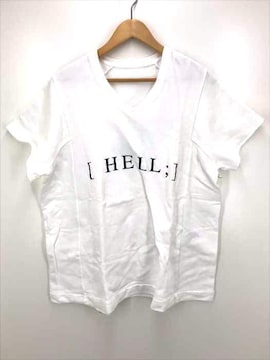 JULIUS(ユリウス)Vネック プリントTシャツVネックTシャツ