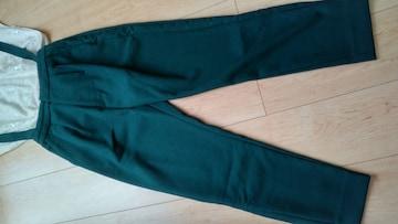 美品★ムルーア★綺麗色深緑2wayパンツ★Sサイズ