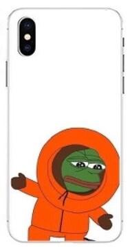 カエルのぺぺ iPhone7.8 カバー