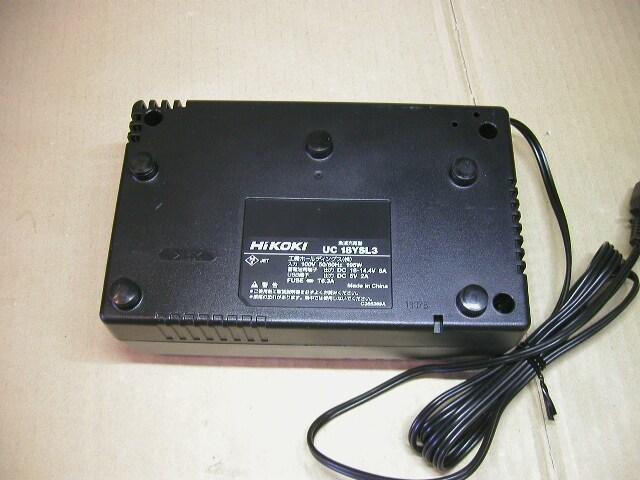 \4390 展示未使用 UC18YSL3 HiKOKI/日立 急速充電器 送料\520〜 < ペット/手芸/園芸の