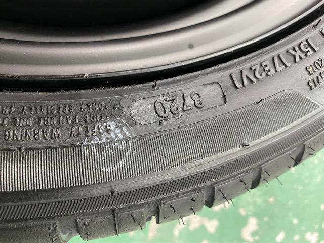 7071594)激安ツヤ消しブラックスチ-ルホイ-ル車検対応4本165/50R15送料無料 < 自動車/バイク