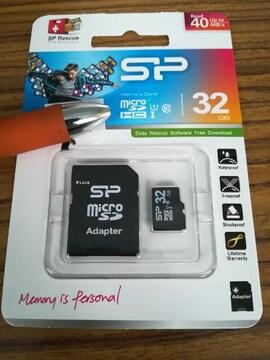 新品 マイクロSD カード32G