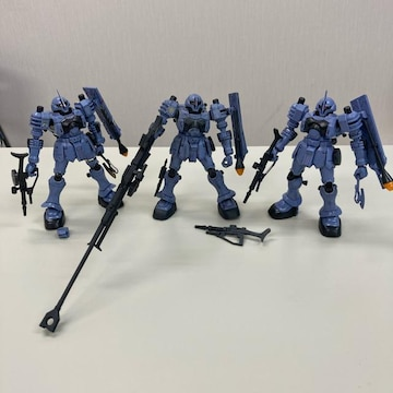 HGUC ヅダ 完成品 3機セット ジャンク