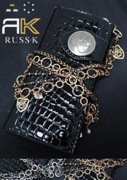 【RUSS.K/ラスケー】《New》★NEWS★ウォレットチェーン/袋付<ゴールド>