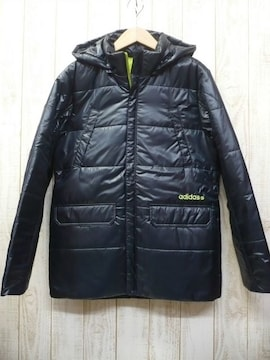 即決☆アディダス 特価 防寒 中綿 コート DN/XL 防寒 送料500円