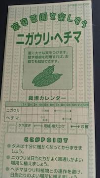 家庭菜園、ニガウリ・ヘチマ栽培方法冊子 にがうり へちま