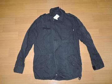 EC コテージ ミリタリー シャツ ジャケット 黒 グッドイナフ GE