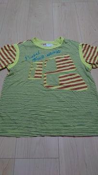 DlESEL ストライプTシャツ 130