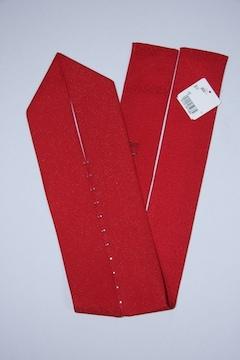 成人式卒業式振袖着物に♪キラキララインストーン付重ね衿★赤