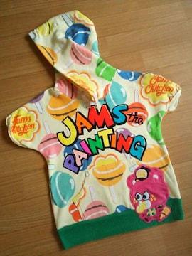 中古キャンディーフードTシャツ120黄ジャムJAM