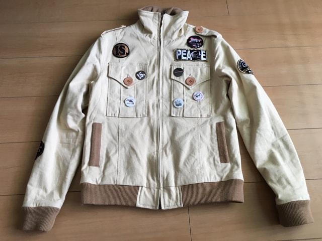 ショップオリジナル M65 ジャケット ベージュ  < 男性ファッションの