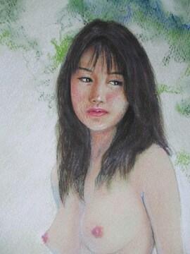「裸婦138」の限定版画、エディション、直筆サインあり