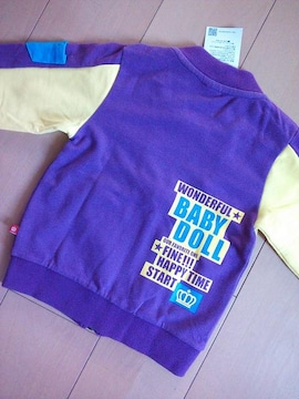 新品袖Pジャケット100紫ベビドBABYDOLLベビードール