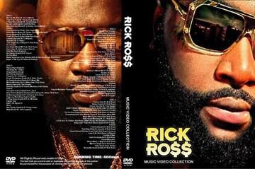 最新2017 Rick Ross プロモ集 PVMV 4DVD 8時間弱 97曲リックロス