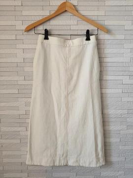 美品 ユニクロ ウエストゴム スウェット ロングスカート S