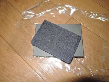 新品TMT BIG HOLIDAY レザーカードケース 革デニム