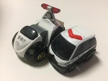 チョロQ・キユーノパトカー、Cチョロ エスティマパトカー。